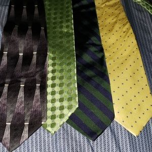 4 handsome  ties for 1 price